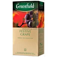 Чай травяной пакетированный Greenfield Festive Grape 25 x 1.5 г