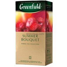 Чай травяной пакетированный Greenfield Summer Bouquet 25 x 1.5 г