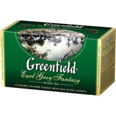 Чай пакетированный Greenfield Earl Grey Fantasy 25 x 2 г