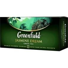 Чай зеленый пакетированный Greenfield Jasmine Dream 25 х 2 г