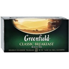Чай черный пакетированный Greenfield Classic Breakfast 2 г х 25 шт