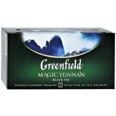 Чай черный пакетированный Greenfield Magic Yunnan 2 г х 25 шт