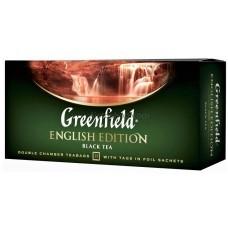 Чай черный пакетированный Greenfield English Edition 2 г х 25 шт