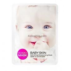 Маска для лица Тонизирующая BioaquaBaby Skin Soft White 1шт