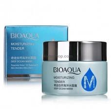 Маска для лица Bioaqua Moisturizing Tender Deep Ocean Water ночная с океанической водой и гиалуроновой кислотой 50г