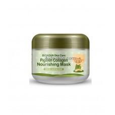 Маска для лица коллагеновая Bioaqua Pigskin Collagen Nourishing Mask 100г