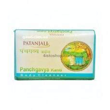 Мыло 5 даров коровы священной коровы Patanjali Panchgavya Kanti 75г