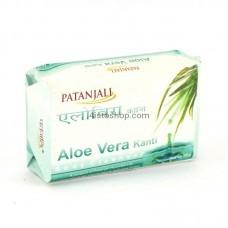 Мыло Patanjali Kanti Aloe vera 75г