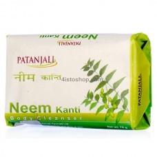 Мыло Patanjali Neem Kanti Body Cleanser 75г