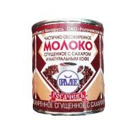 Сгущённое молоко с натуральным кофе Рогачев 380 мл