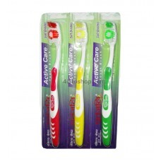 Зубная щетка Patanjali Active Care Toothbrush 1шт