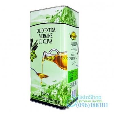 Оливковое масло холодного отжима Vesuvio Extra Virgin Olive Oil 5 л