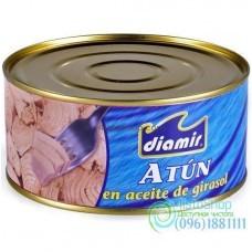 Тунец в подсолнечном масле Atun DIAMIR 900 г