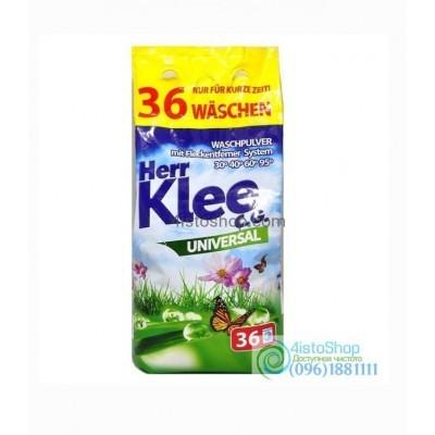 Klee Universal Стиральный порошок 3 кг