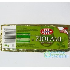 Mlekovita сыр плавленый c зеленью100 г