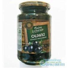 Оливки чёрные Nasza Spizarnia без косточки 340 г