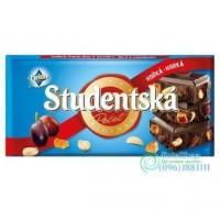 Шоколад чёрный Studentska Pecet 180 г