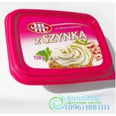 Сыр мягкий MLEKOVITA с ветчиной 150 г