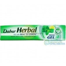 Зубная паста Dabur Herb'l Lemon and Mint лечебно профилактическая100 мл
