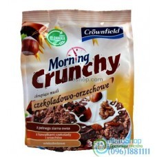 Мюсли шоколадные с орехами Crownfield Morning Czekoladowo-Orzechowe 350 г