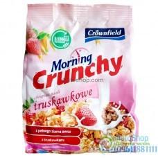 Мюсли с клубникой Crownfield Morning strawberry 350 г