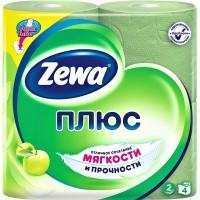 Туалетная бумага Zewa Плюс аромат яблока    двухслойная 4 рулонов