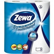 Двухслойные кухонные полотенца Zewa Плюс 2 рулона