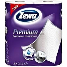 Бумажные полотенца Zewa Premium 2 рулона