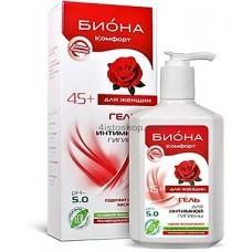 Гель для интимной гигиены для женщин 45+ Биокон Биона Комфорт 270 г