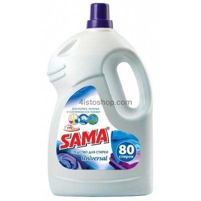 Универсальный гель для стирки Sama 4000мл