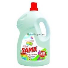 Гель для стирки цветных вещей Sama 4000мл