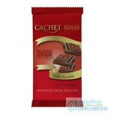 Шоколад молочный CACHET 300 г