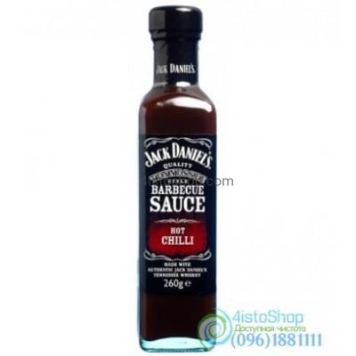 Соус Jack Daniels острый Чилийский Hot Chilli 260 г