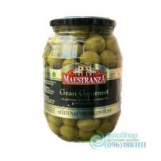 Оливки Maestranza зеленые с косточкой 950 г