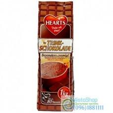 Капучино Hearts Cappuccino Trink Schokolade горячий шоколад 1кг