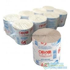 Туалетная бумага Обухов 65 м 8 рулонов