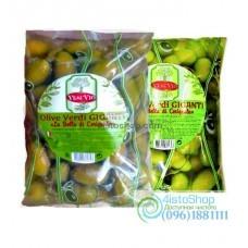 Оливки зелёные с косточкой VesuVio Olive Verdi Giganti 800 г