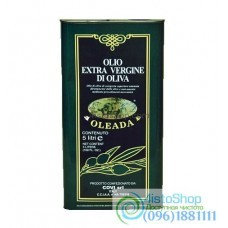 Масло оливковое холодного отжима Oleada Extra Virgin Olive Oil 5 л