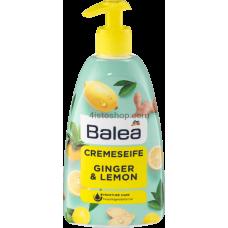 Жидкое крем - мыло Balea Ginger & Lemon 500мл