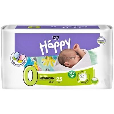 Купить Подгузники детские Bella Baby Happy Before Newborn 0-2 кг 25 шт