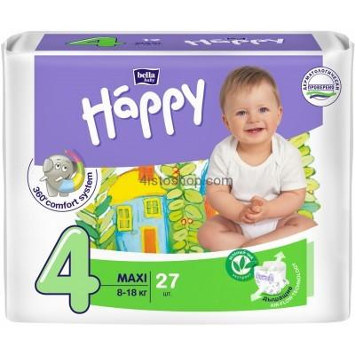 купить подгузники Bella Happy 4 27шт