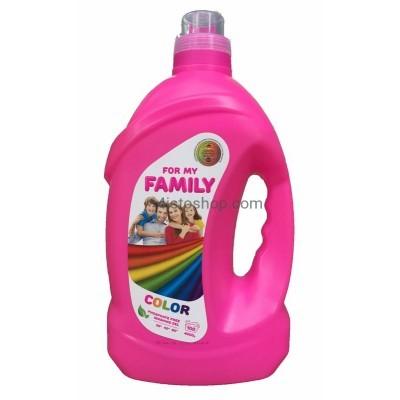 Family Color Гель для стирки 4 л