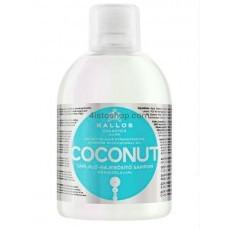 Шампунь питательный Kallos Coconut 1000мл