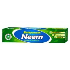 Аюрведическая зубная паста Baidyanath Neem 100г