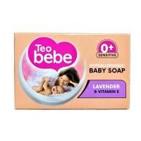 Teo Bebe детское крем-мыло с экстракт лаванды 75 г