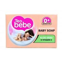 Teo Bebe детское крем-мыло с алое 75 г