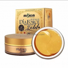 Гидрогелевые патчи с золотом Miskin Dia Force Gold Hydro Gel Eye Patch 60шт