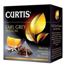Чай чёрный Curtis с бергамотом 20 пак.