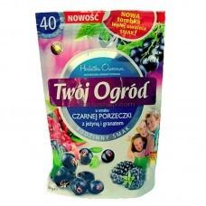 Чай фруктовый Twoj Ogrod черная смородина, ежевика, гранат 40 пак.