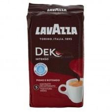 Кофе молотый Lavazza Decaffinato Intenso брикет 250г (без кофеина)